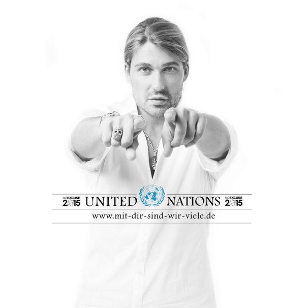 David Garrett, unterstützt die UN-Millenniumkampagne (Einladung zur PK am 08.09.)