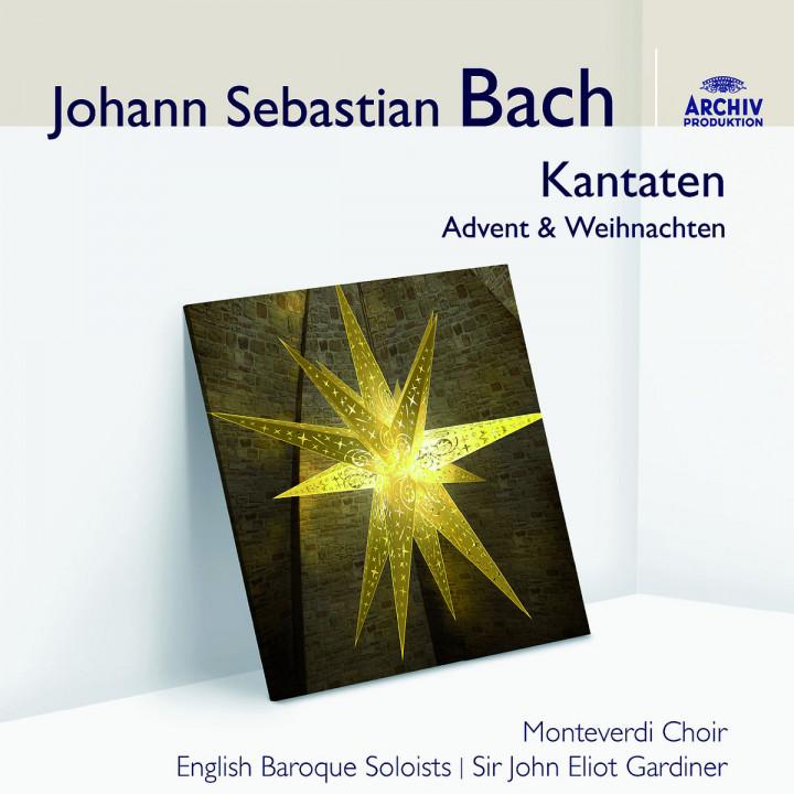 Bach: Kantaten Advent und Weihnachten: Gardiner/Monteverdi Choir/EBS