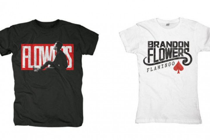 Brandon Flowers Fan-Shirts Merch 2010