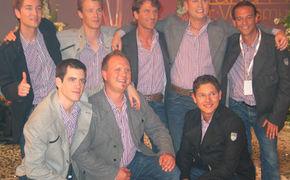 Die Bergkameraden, Die Bergkameraden belegen einen sensationellen dritten Platz beim Grand Prix der Volksmusik 2010