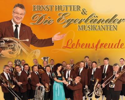 Ernst Hutter & Die Egerländer Musikanten, Die aktuellen Termine der Tour Lebensfreude 2012 im Überblick