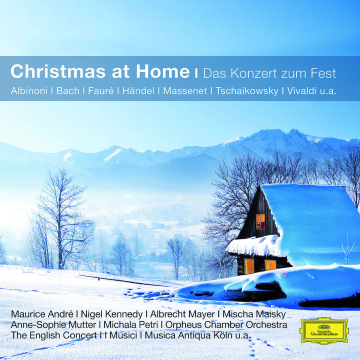 Christmas at home - ein festliches Konzert (CC): Andre/Maisky/Mutter/EC/ECO/BP/WP/+