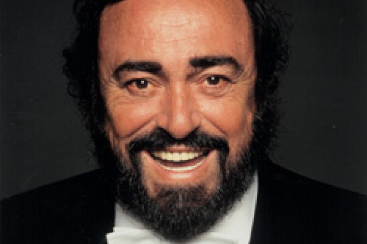 Luciano Pavarotti © by Terry O'Neill
