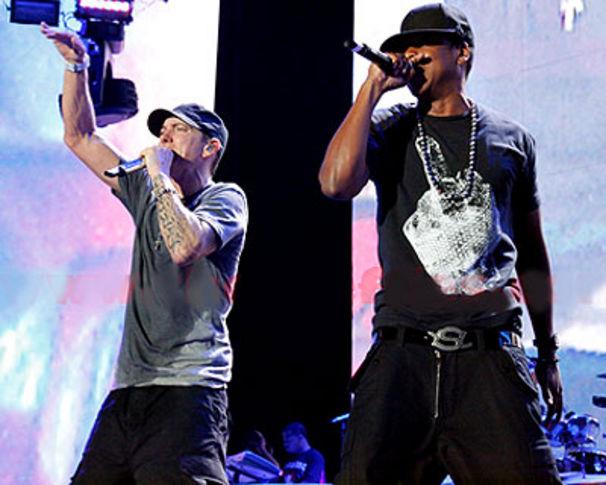 Eminem, Eminem & Jay-Z rockten Detroit mit Monster-Show