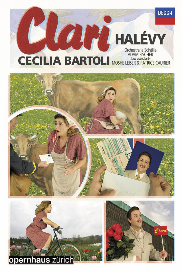 Clari: Bartoli,Cecilia/Fischer,Adam/Oper Zürich