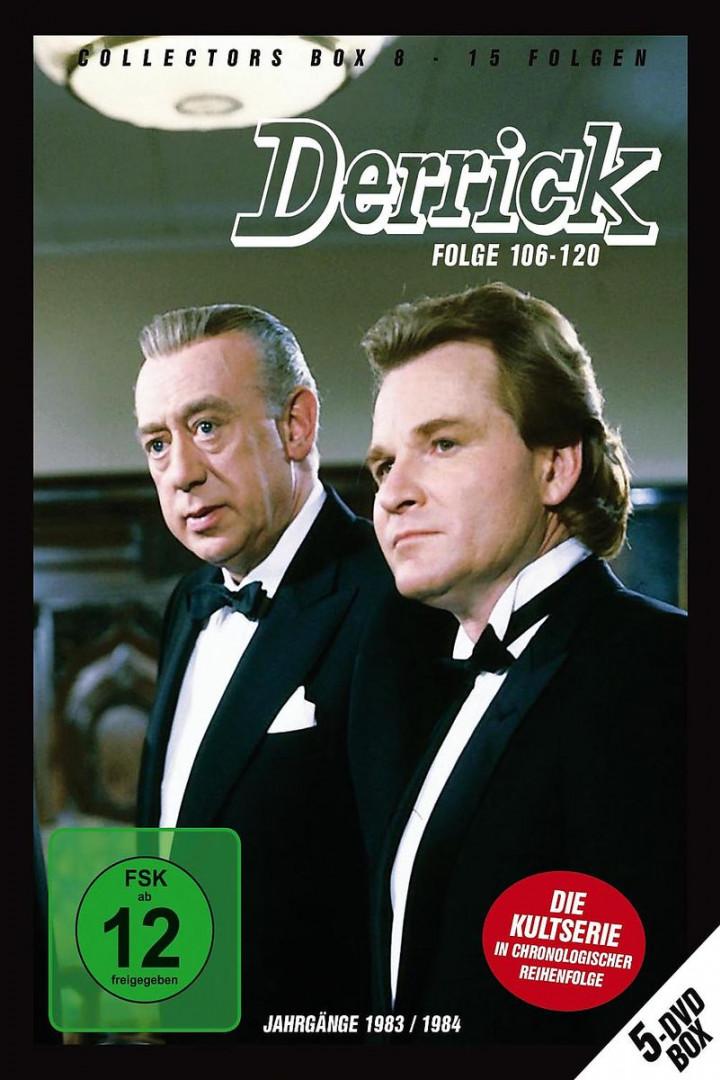 Derrick Collector's Box Vol. 8 (5 DVD/Ep.106-120): Derrick