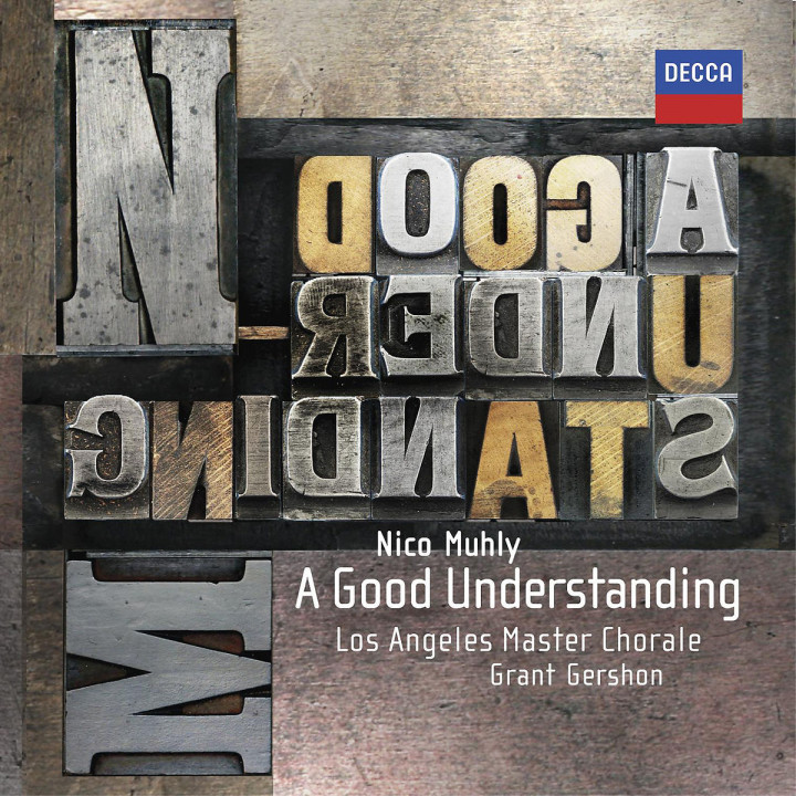 A Good Understanding: Muhly,Nico/Los Angeles Master Chorale/Gershon,G.