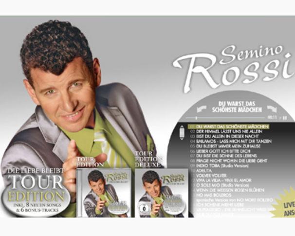 Semino Rossi, Jetzt das neue Album Die Liebe bleibt - Tour Edition probehören!