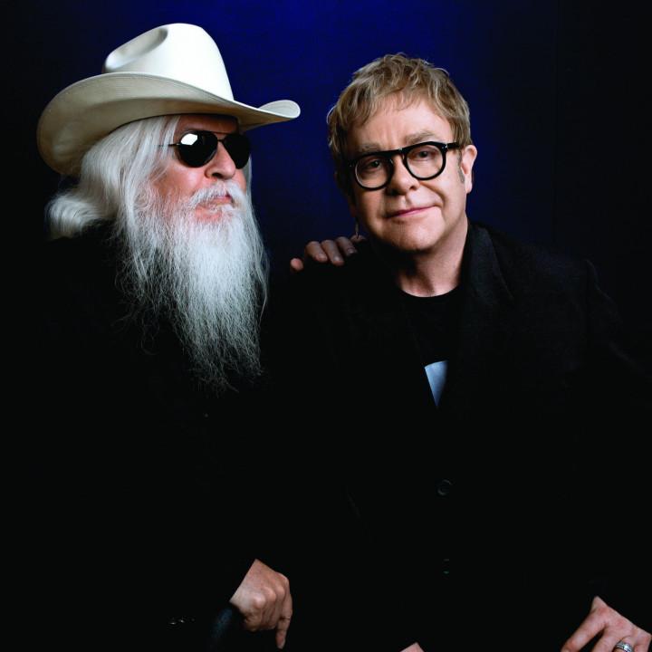 Elton John und Leon Russell