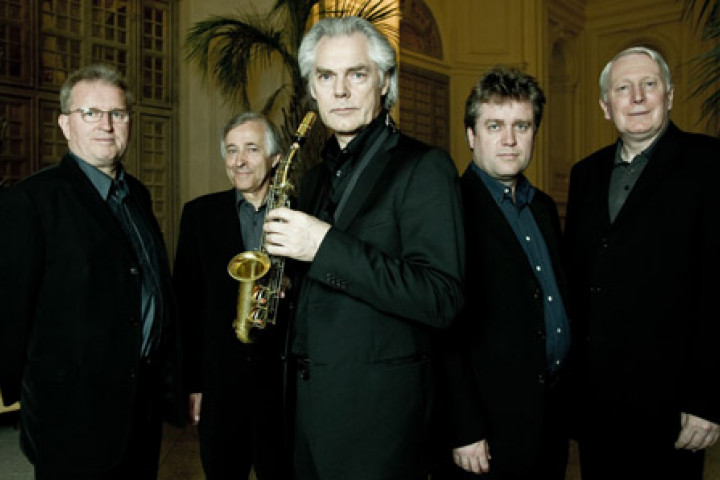 Davis James, Rogers Covey-Crump, Jan Garbarek, Steven Harrold, Gordon Jones © by Paolo Soriani / ECM Records