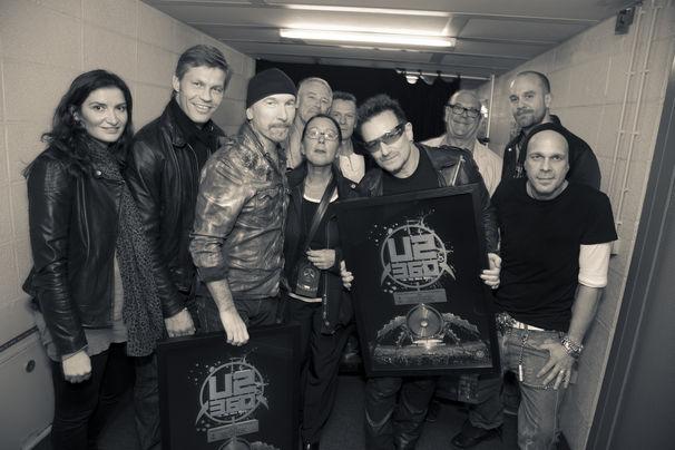 U2, Sensationelles Finale der Deutschland-Tour