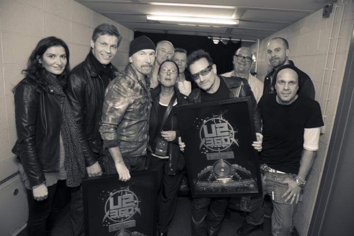 U2 Platinverleihung  DVD 2010