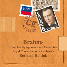 Collectors Edition, Johannes Brahms: Konzerte und Sinfonien, 00028947823650