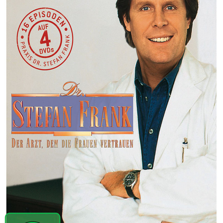 Dr. Stefan Frank - Staffel 2 (4 DVD): Dr. Stefan Frank - Der Arzt, d.d. Frauen vertrauen