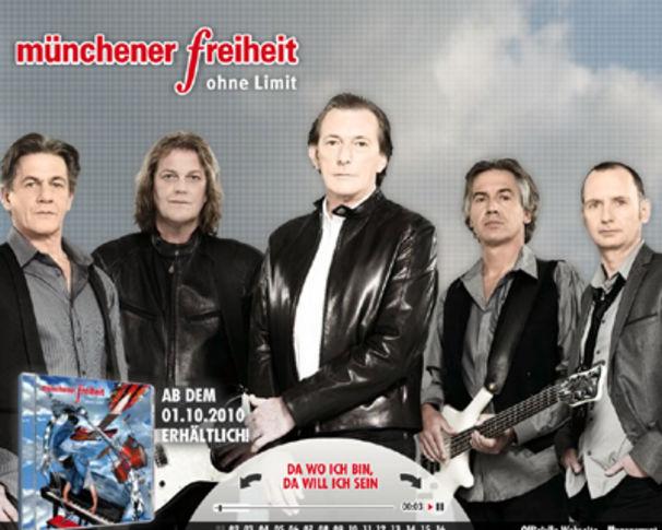 Münchener Freiheit, Jetzt das brandneue Album Ohne Limit probehören!