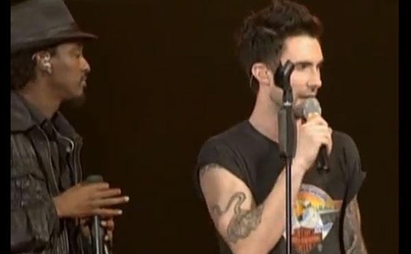 K'NAAN, Adam und K'NAAN rockten Italien