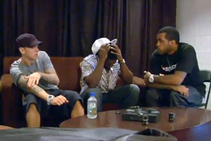 Eminem, 50 Cent & Lloyd Banks