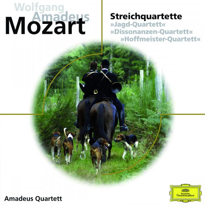Streichquartette KV 458, 465, 499: Amadeus Quartett