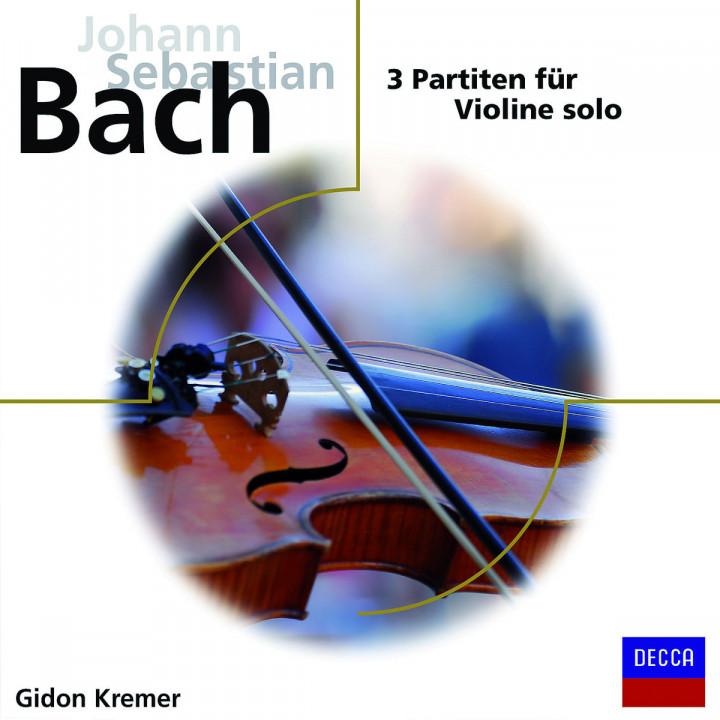3 Partiten für Violine Solo: Kremer,Gidon