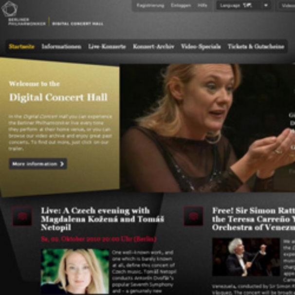 Magdalena Kozena, Magdalena Kožená begeistert in der Berliner Philharmonie