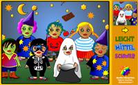 """Puzzle """"Halloween Kids"""" und """"Jahrmarkt Direktor"""""""