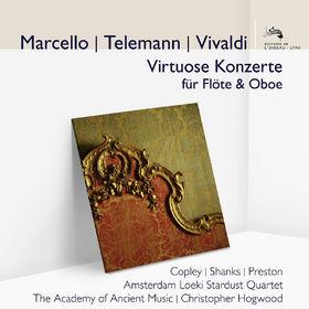 Georg Philipp Telemann, Telemann & Vivaldi: Virtuose Konzerte für Flöte und Oboe, 00028948042227