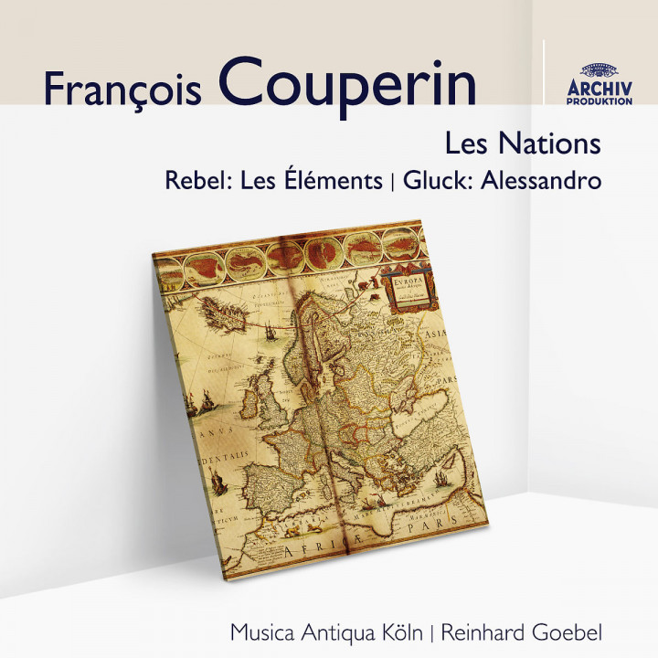 Couperin: Les Nations: Goebel,Reinhard/MAK