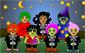 Halloween Kostüm-Anprobe, 3-6 Jahre, 7-10 Jahre, Halloween Kids, Spiel,