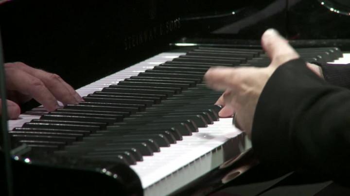 Ludovico Einaudi live in der Royal Albert Hall, März 2010