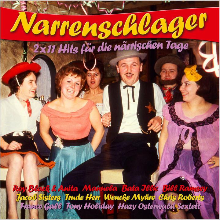 Narrenschlager - 2x11 Hits für die närrischen Tage: Various Artists