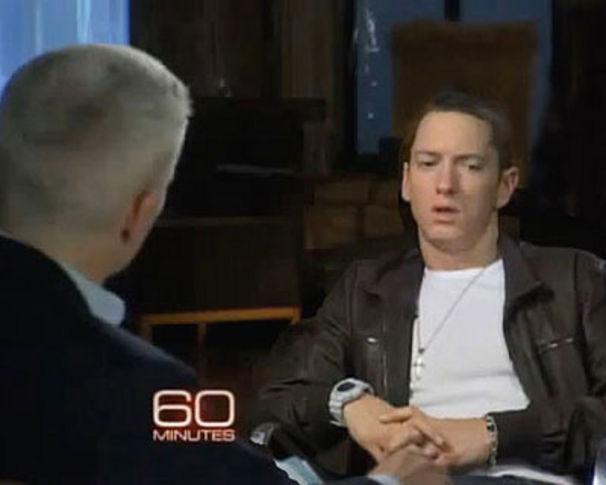 Eminem, 60 Minutes - CNN's Anderson Cooper meets Eminem