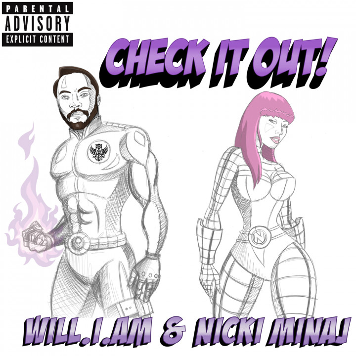 Will.I.Am & Nicki Minaj Single Cover 2010