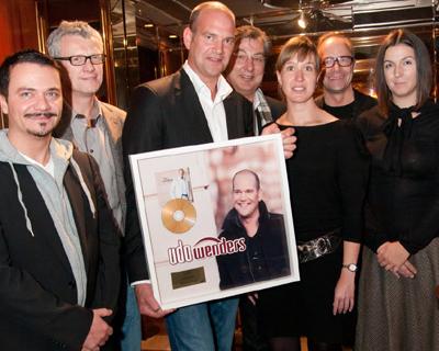 Udo Wenders, Gold Verleihung