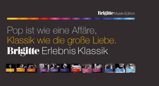 Brigitte Musik Edition Erlebnis Klassik, Hörerlebnis der besonderen Art