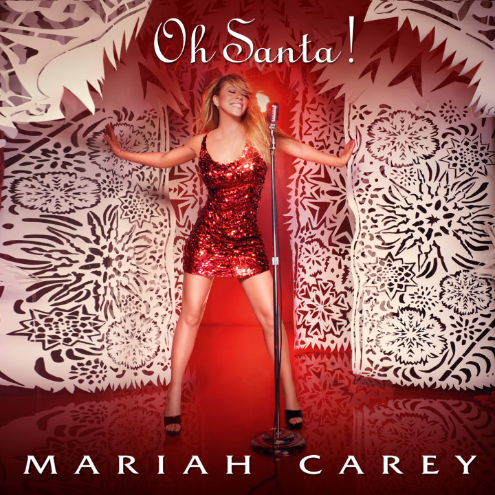Mariah Carey Single Cover 2010