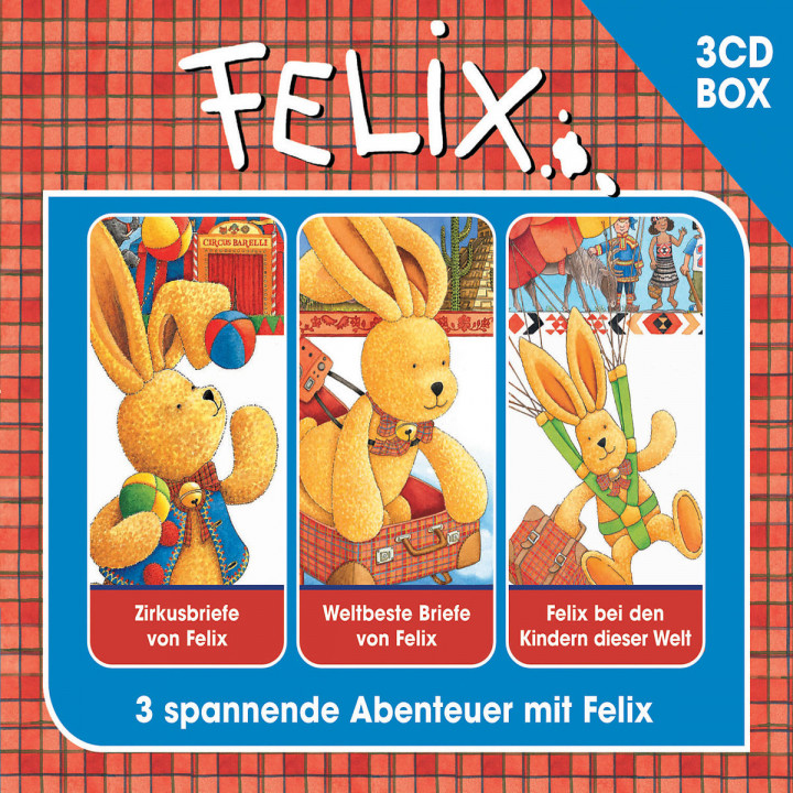 3-CD Hörspielbox Vol. 2: Felix