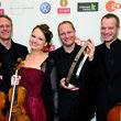 ECHO Klassik - Deutscher Musikpreis, Das Fauré Quartett beim ECHO Klassik 2010 © Stefan Höderath