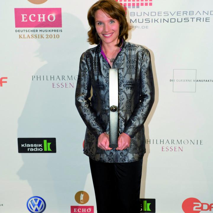 Hélène Grimaud mit dem ECHO Klassik 2010