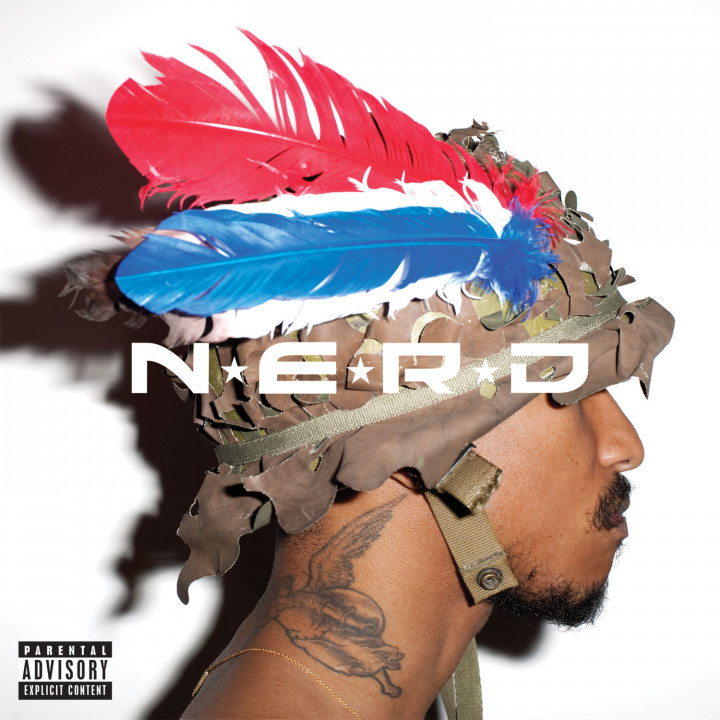 N.E.R.D Album Cover Nothing 2010