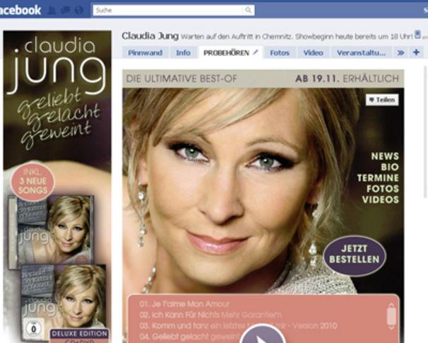 Claudia Jung, Jetzt ausführlich & exklusiv Geliebt, Gelacht, Geweint probehören!