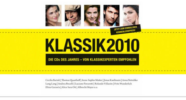 Vielfalt, kompakt - Der Sampler Klassik2010