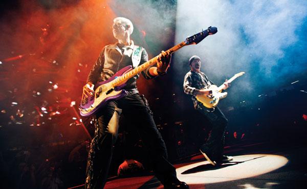 U2, Video von Rise Above