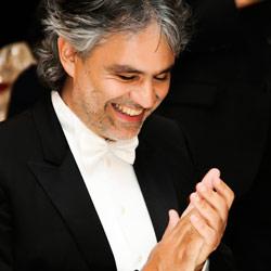 Andrea Bocelli, Andrea Bocelli – Liederabend mit Gewinnerin