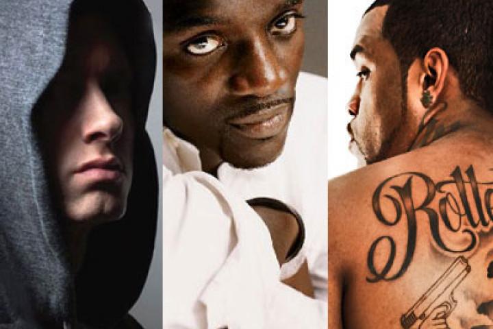 Eminem, Akon & Lloyd Banks