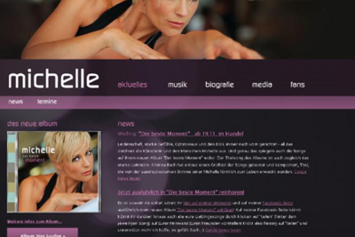 michelle webseite neu