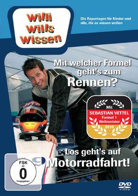 Willi wills wissen, Mit welcher Formel geht's zum Rennen? / Motorradfahrt, 00602527094076