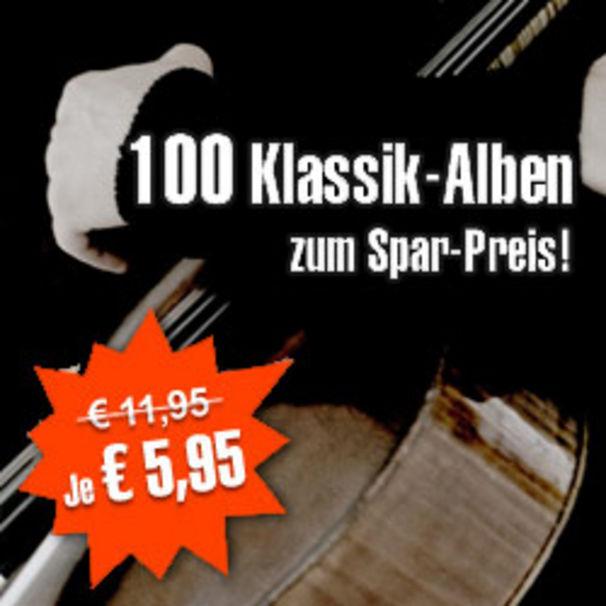 Top Klassik-Alben für nur € 5,95 bei Musicload