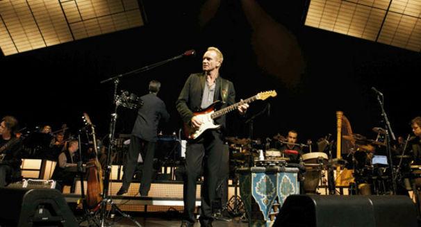 Sting, Stings Welt - Das Symphonicity-Konzert in Berlin auf DVD