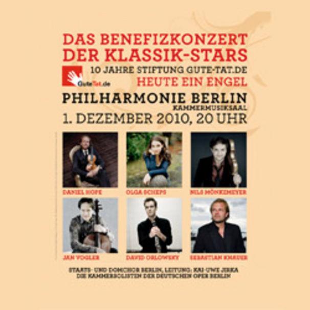 Daniel Hope, Gute-Tat.de: Jubiläum mit Star-Gala