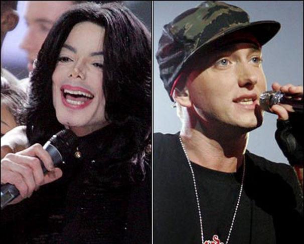 Eminem, Eminem sieht Parallelen zu Michael Jackson